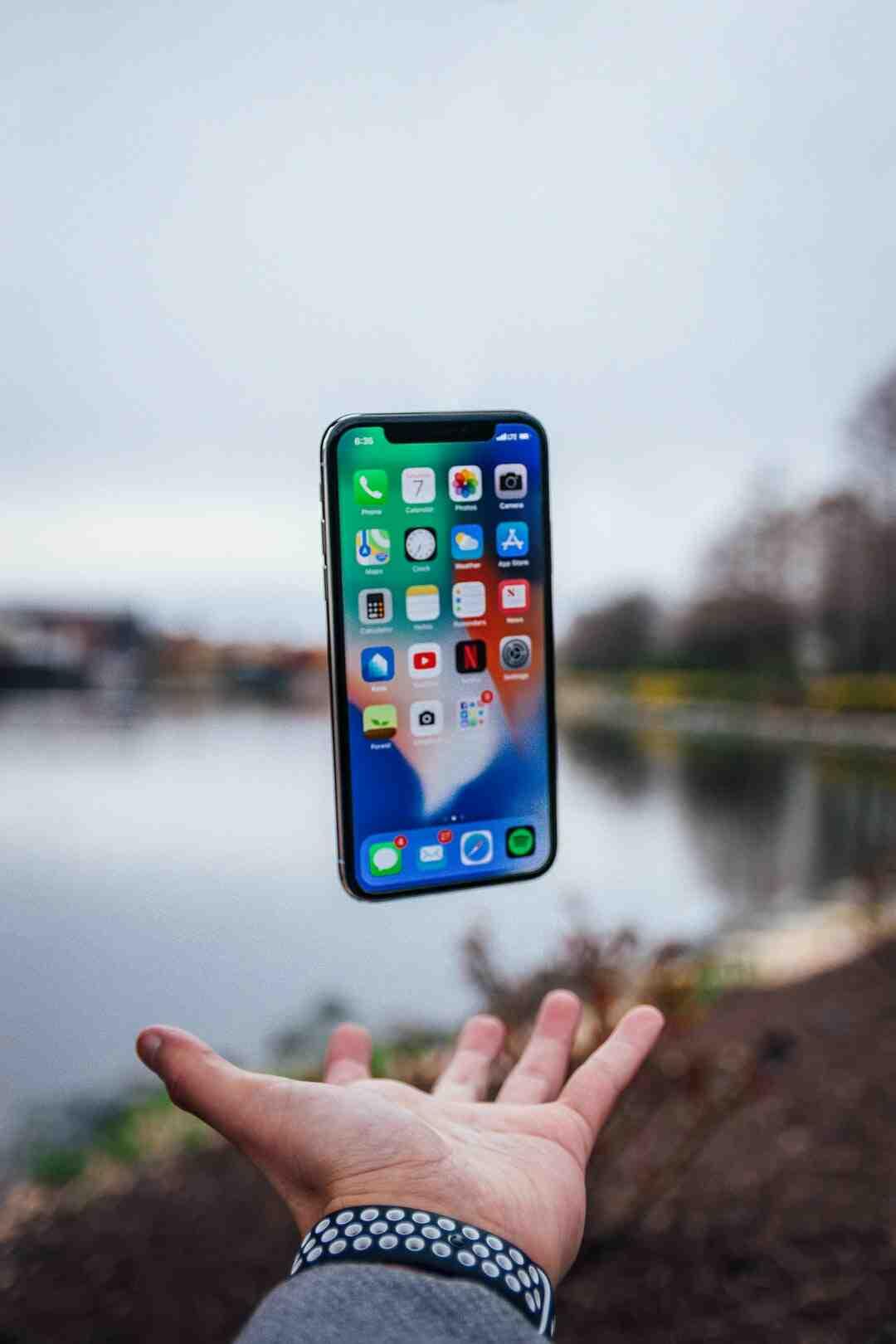 Comment localiser un iPhone avec un numéro ?
