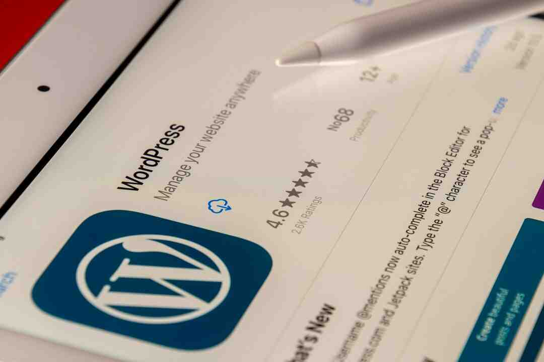 Wordpress comment justifier texte